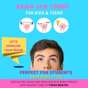 Brain Gym Assessment + Video Series for Kids & Teens