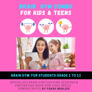 Video Series for Kids & Teens + 3 Brain Gym Coaching sessions